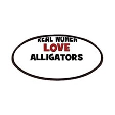 Real Women Love Alligators Patches
