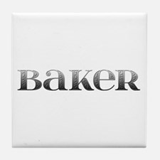 Baker Carved Metal Tile Coaster