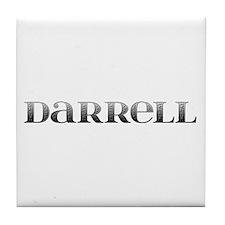 Darrell Carved Metal Tile Coaster