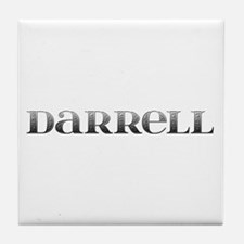 Darrell Carved Metal Tile Coaster