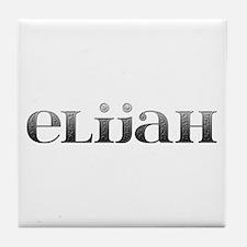 Elijah Carved Metal Tile Coaster