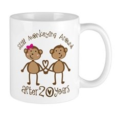 20th Anniversary Love Monkeys Mug