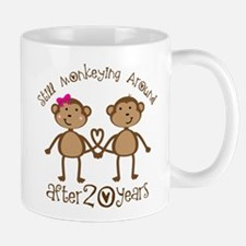 20th Anniversary Love Monkeys Small Mugs