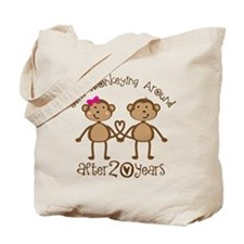 20th Anniversary Love Monkeys Tote Bag