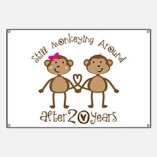 20th Anniversary Love Monkeys Banner