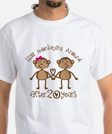 20th Anniversary Love Monkeys Shirt