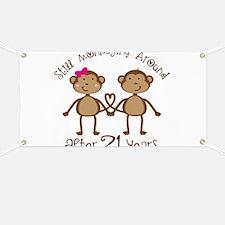 21st Anniversary Love Monkeys Banner