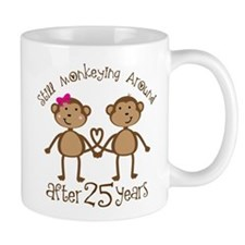 25th Anniversary Love Monkeys Mug