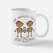 25th Anniversary Love Monkeys Mug