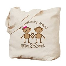 25th Anniversary Love Monkeys Tote Bag