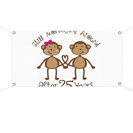 25th Anniversary Love Monkeys Banner