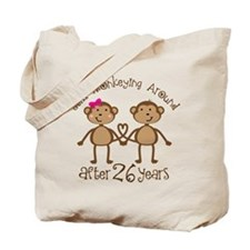26th Anniversary Love Monkeys Tote Bag
