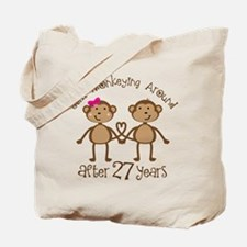 27th Anniversary Love Monkeys Tote Bag