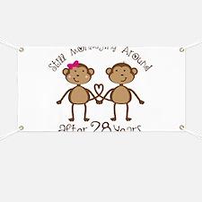 28th Anniversary Love Monkeys Banner