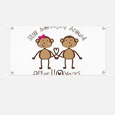 40th Anniversary Love Monkeys Banner