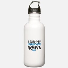 I Survived Hurricane Irene Water Bottle