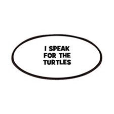 I Speak For The Turtles Patches