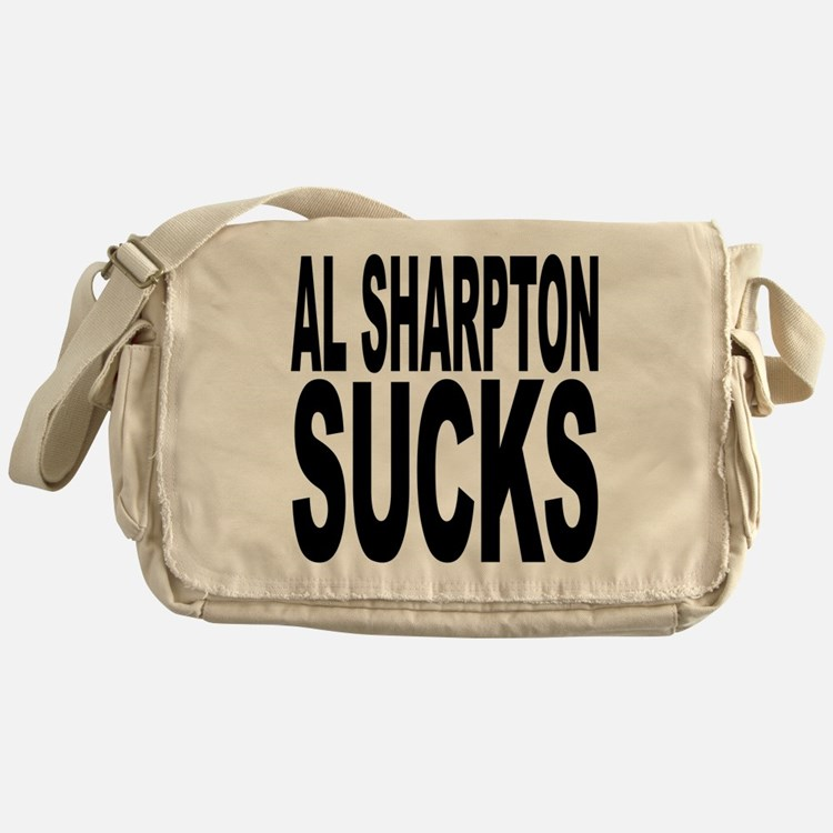 Al Sharpton Sucks Messenger Bag