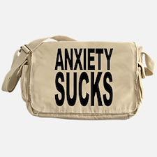 Anxiety Sucks Messenger Bag
