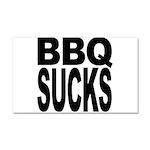 BBQ Sucks Car Magnet 20 x 12