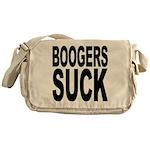 Boogers Suck Messenger Bag