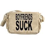 Boyfriends Suck Messenger Bag
