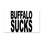 Buffalo Sucks Car Magnet 20 x 12