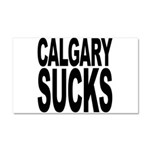 Calgary Sucks Car Magnet 20 x 12
