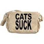 Cats Suck Messenger Bag