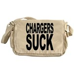 Chargers Suck Messenger Bag