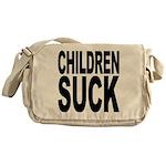 Children Suck Messenger Bag