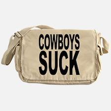 Cowboys Suck Messenger Bag