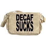 Decaf Sucks Messenger Bag