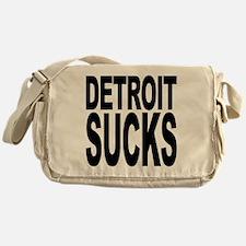 Detroit Sucks Messenger Bag