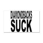 Diamondbacks Suck Car Magnet 20 x 12