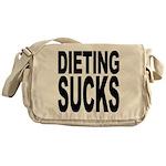 Dieting Sucks Messenger Bag