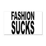 Fashion Sucks Car Magnet 20 x 12