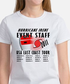 Hurricane Irene Women's T-Shirt