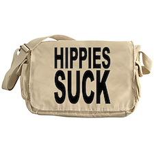 Hippies Suck Messenger Bag