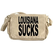 Louisiana Sucks Messenger Bag