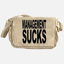 Management Sucks Messenger Bag