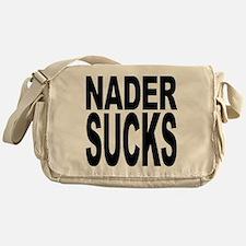 Nader Sucks Messenger Bag