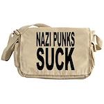Nazi Punks Suck Messenger Bag