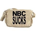 NBC Sucks Messenger Bag