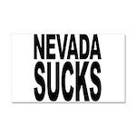 Nevada Sucks Car Magnet 20 x 12