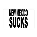 New Mexico Sucks Car Magnet 20 x 12