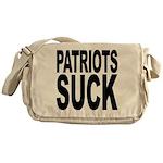 Patriots Suck Messenger Bag