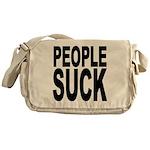People Suck Messenger Bag