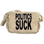 Politics Suck Messenger Bag