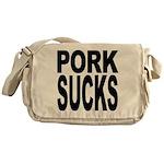 Pork Sucks Messenger Bag